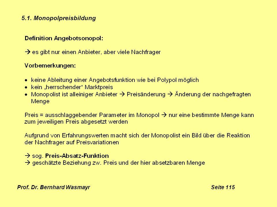 Prof. Dr. Bernhard Wasmayr Seite 115