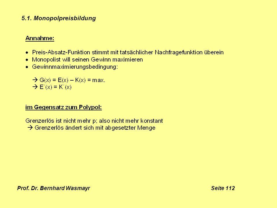Prof. Dr. Bernhard Wasmayr Seite 112