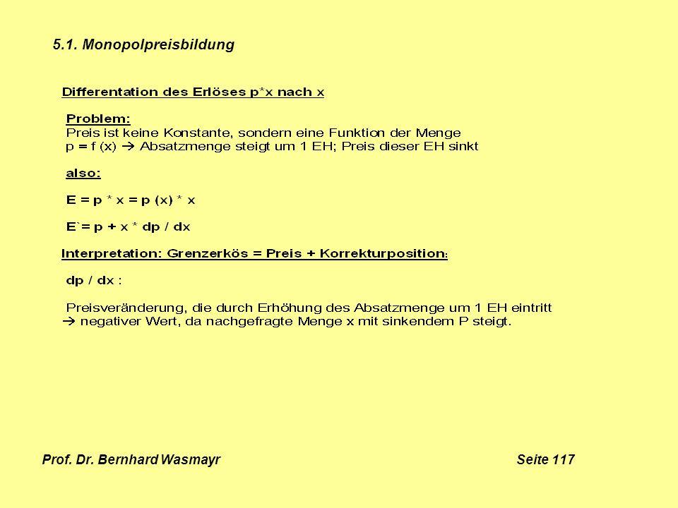 Prof. Dr. Bernhard Wasmayr Seite 117