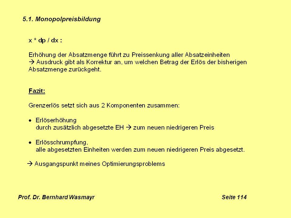 Prof. Dr. Bernhard Wasmayr Seite 114