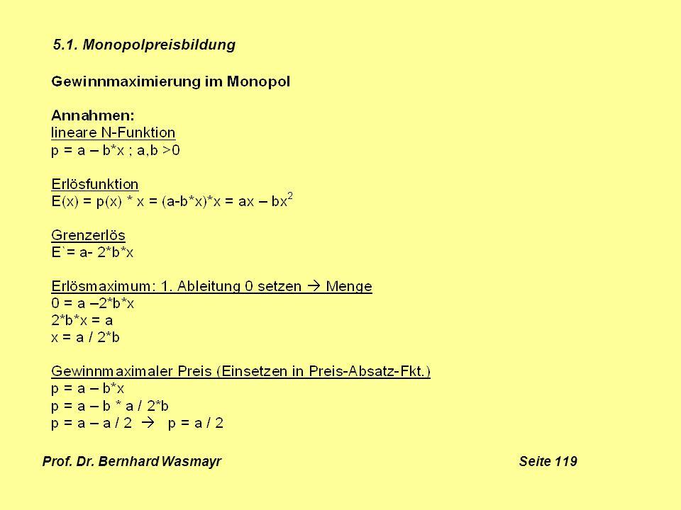 Prof. Dr. Bernhard Wasmayr Seite 119