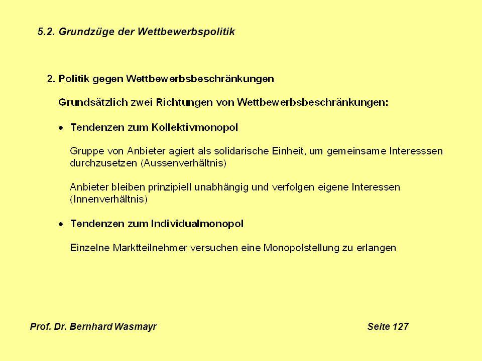 Prof. Dr. Bernhard Wasmayr Seite 127