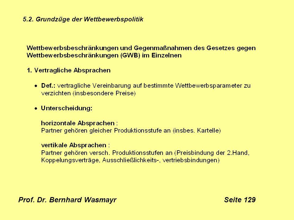 Prof. Dr. Bernhard Wasmayr Seite 129