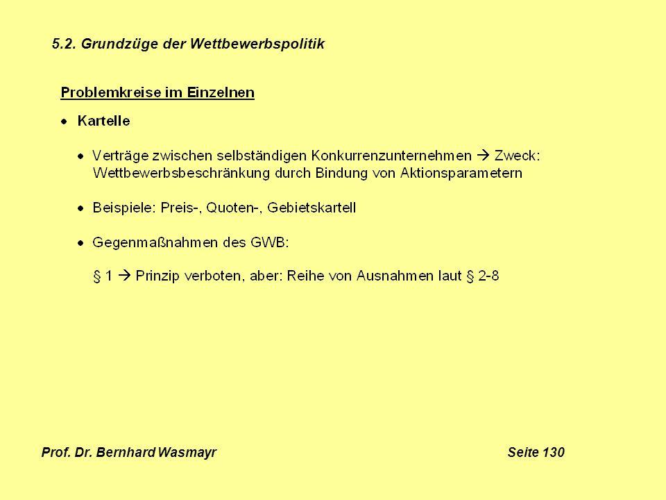 Prof. Dr. Bernhard Wasmayr Seite 130