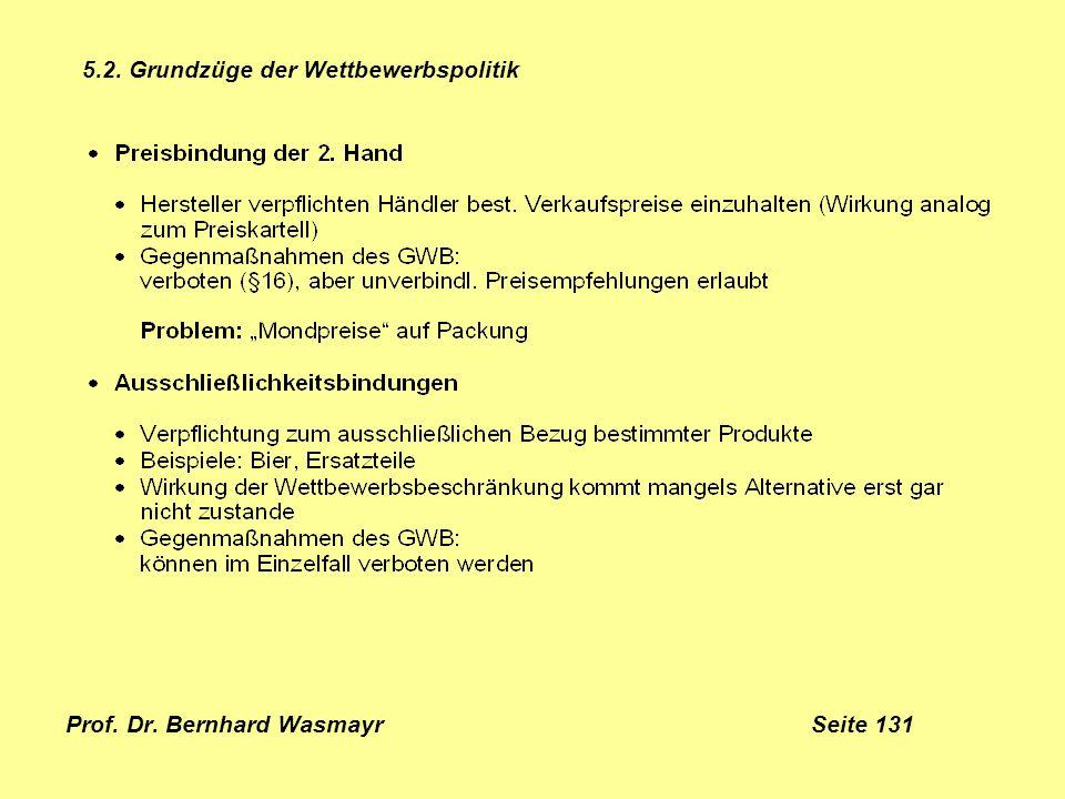 Prof. Dr. Bernhard Wasmayr Seite 131