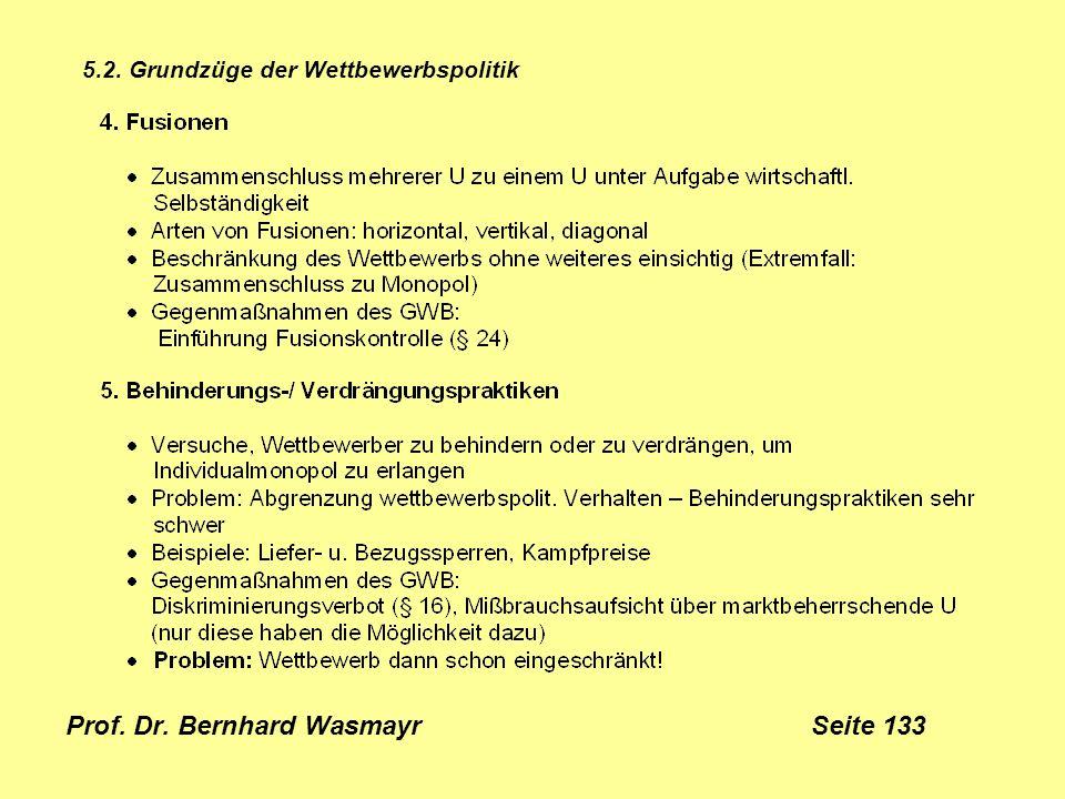 Prof. Dr. Bernhard Wasmayr Seite 133
