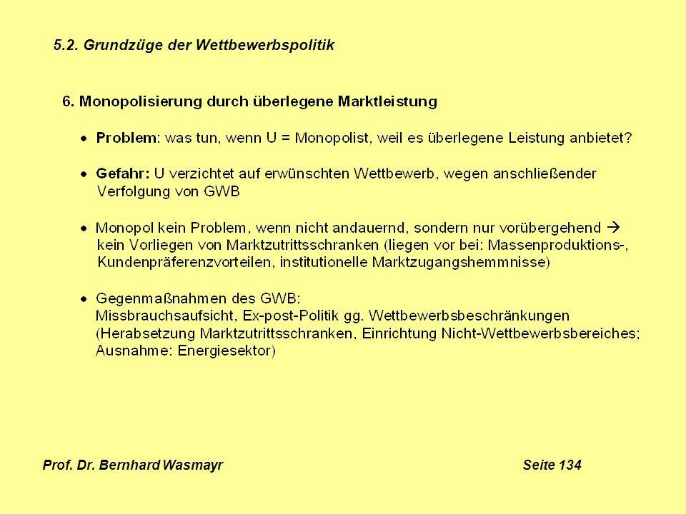 Prof. Dr. Bernhard Wasmayr Seite 134