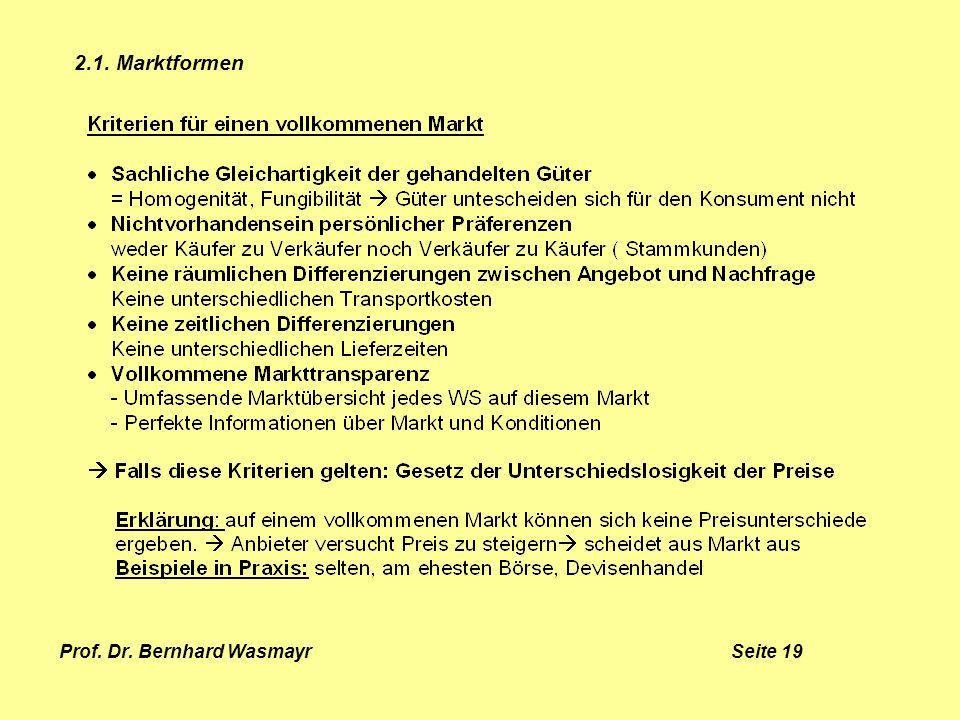 Prof. Dr. Bernhard Wasmayr Seite 19