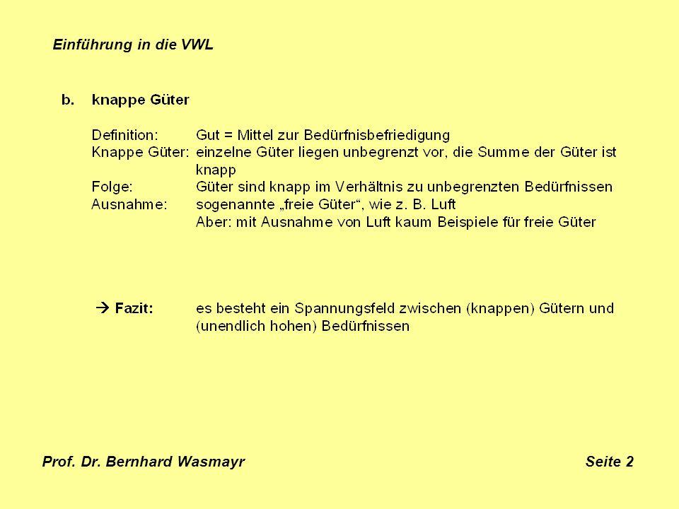 Prof. Dr. Bernhard Wasmayr Seite 2