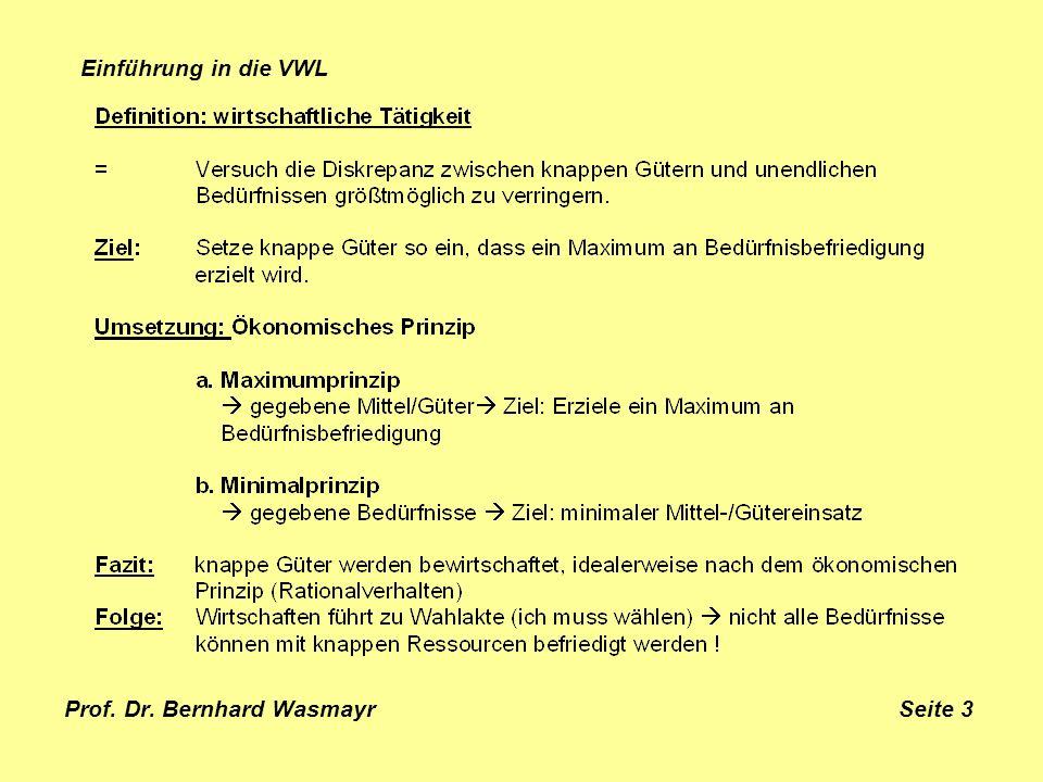 Prof. Dr. Bernhard Wasmayr Seite 3