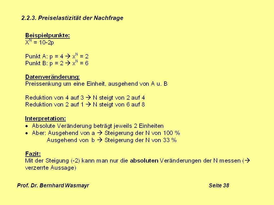 Prof. Dr. Bernhard Wasmayr Seite 38