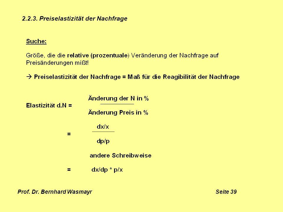 Prof. Dr. Bernhard Wasmayr Seite 39