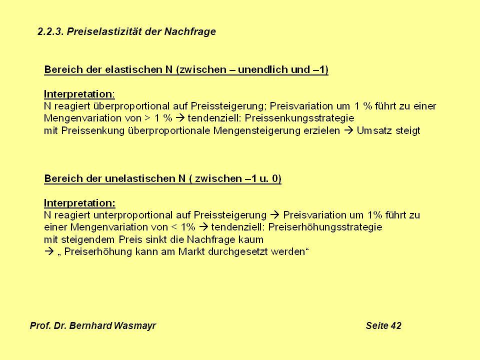 Prof. Dr. Bernhard Wasmayr Seite 42
