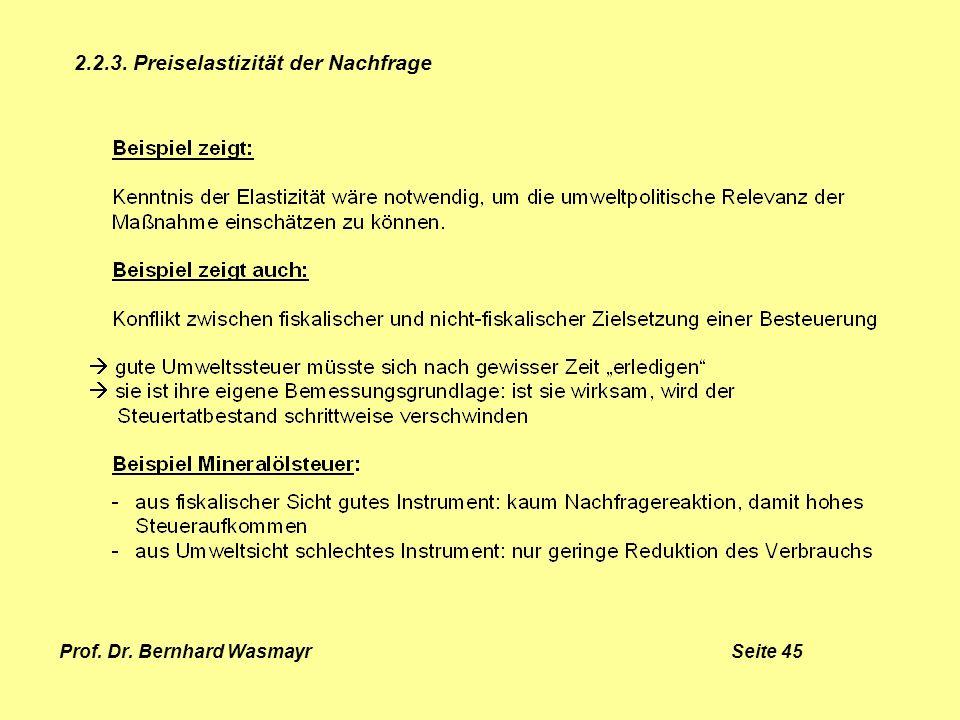 Prof. Dr. Bernhard Wasmayr Seite 45