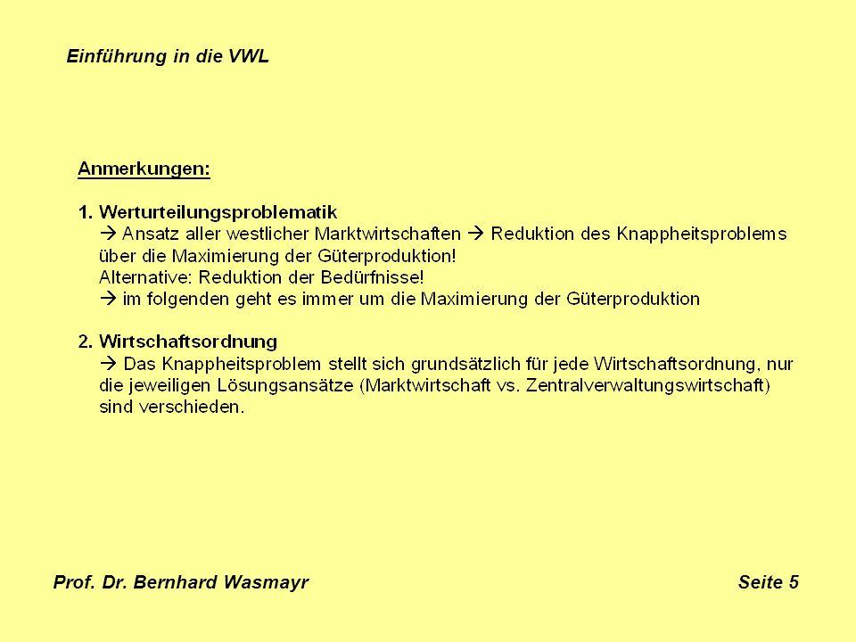 Prof. Dr. Bernhard Wasmayr Seite 5