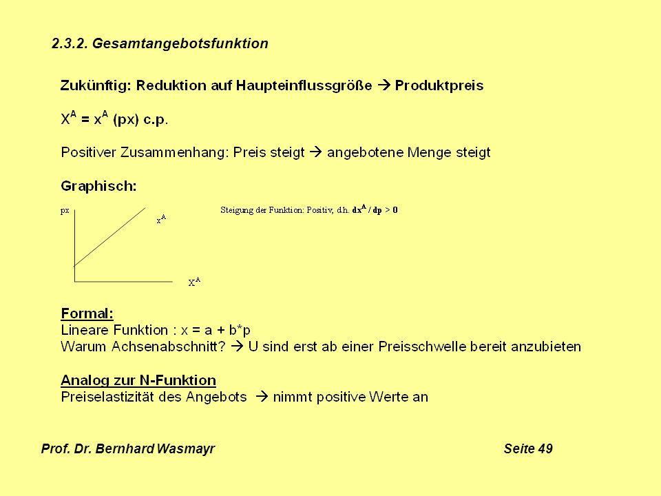 Prof. Dr. Bernhard Wasmayr Seite 49