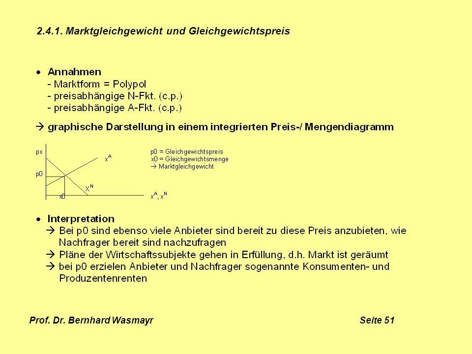 Prof. Dr. Bernhard Wasmayr Seite 51
