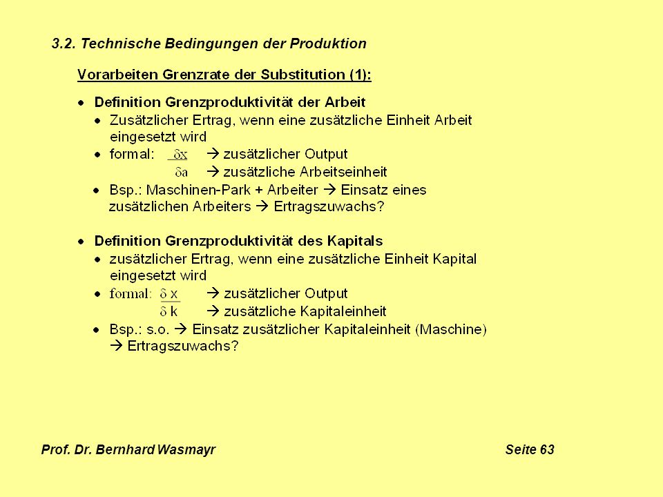 Prof. Dr. Bernhard Wasmayr Seite 63