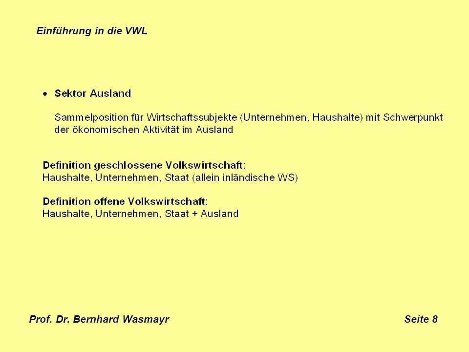 Prof. Dr. Bernhard Wasmayr Seite 8