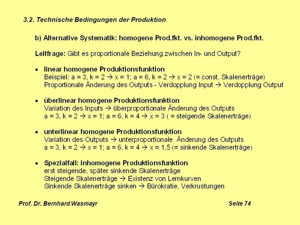 Prof. Dr. Bernhard Wasmayr Seite 74