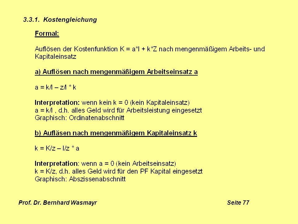 Prof. Dr. Bernhard Wasmayr Seite 77