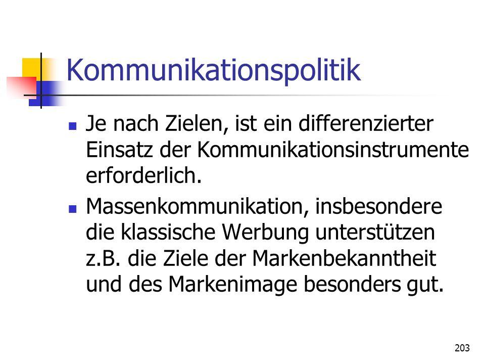 Kommunikationspolitik