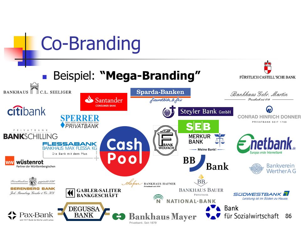 Co-Branding Beispiel: Mega-Branding