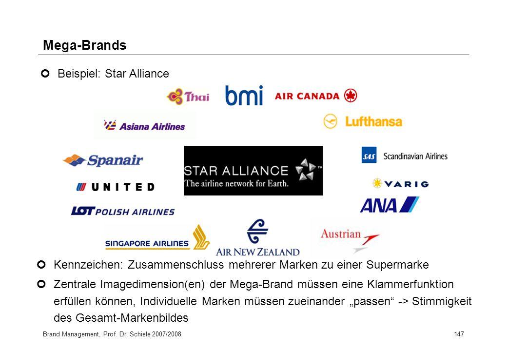 Mega-Brands Beispiel: Star Alliance