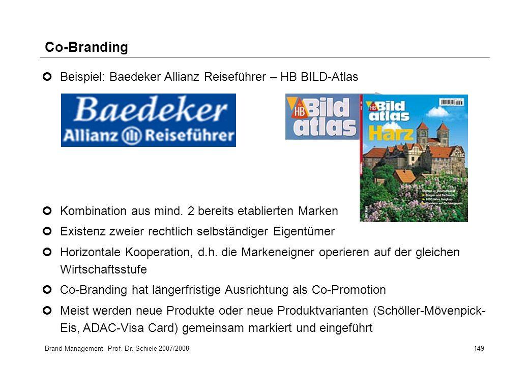 Co-Branding Beispiel: Baedeker Allianz Reiseführer – HB BILD-Atlas