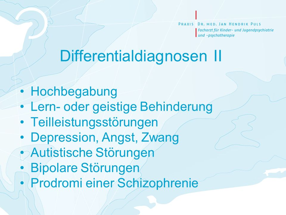 Differentialdiagnosen II