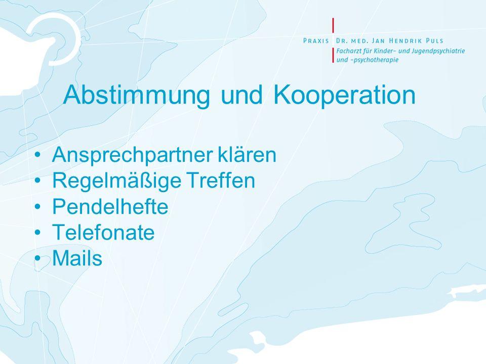 Abstimmung und Kooperation
