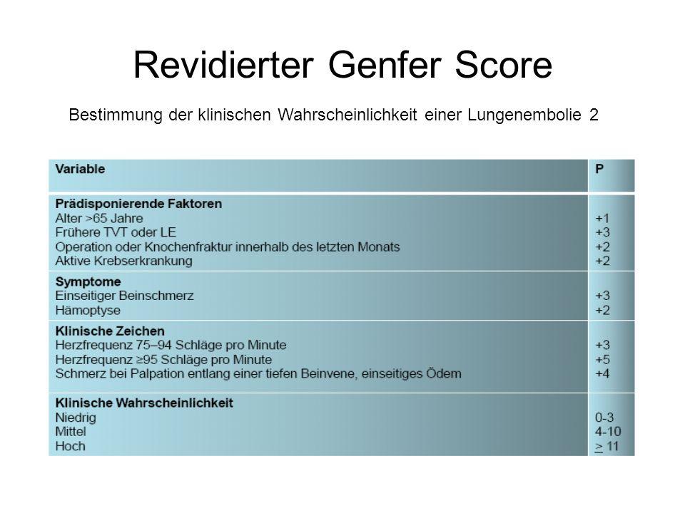 Revidierter Genfer Score