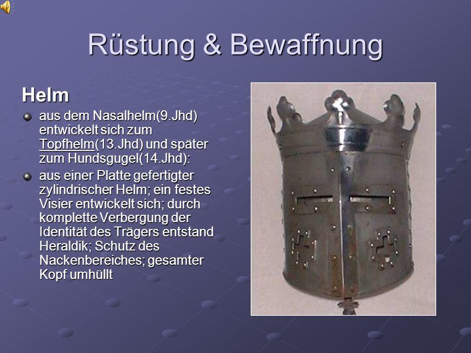 Rüstung & Bewaffnung Helm