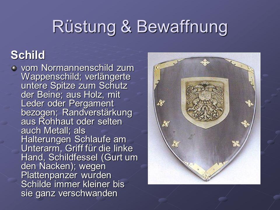 Rüstung & Bewaffnung Schild