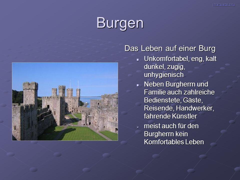 Burgen Das Leben auf einer Burg