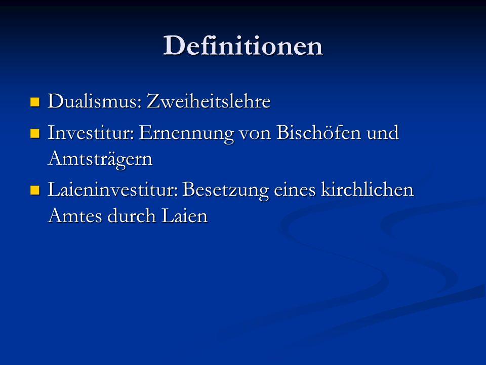Definitionen Dualismus: Zweiheitslehre