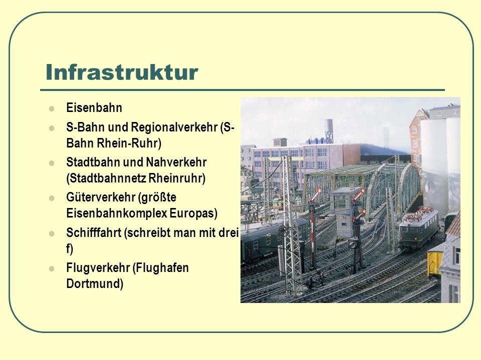 Infrastruktur Eisenbahn S-Bahn und Regionalverkehr (S-Bahn Rhein-Ruhr)