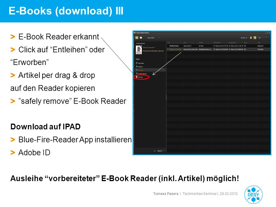 E-Books (download) III