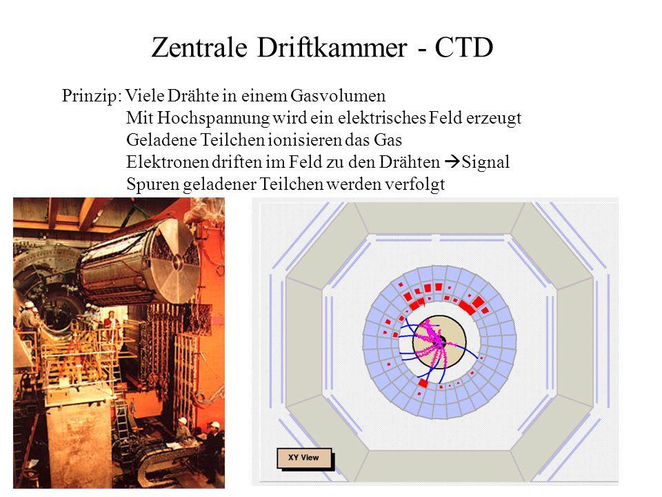 Zentrale Driftkammer - CTD
