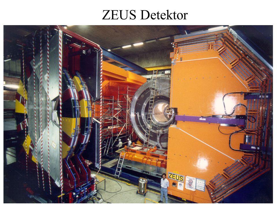 ZEUS Detektor Größe: 19 x 10 x 10 m3 Gewicht: 3600 Tonnen