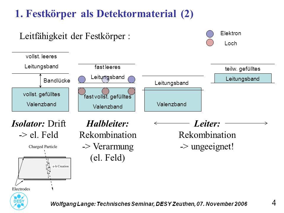 1. Festkörper als Detektormaterial (2)