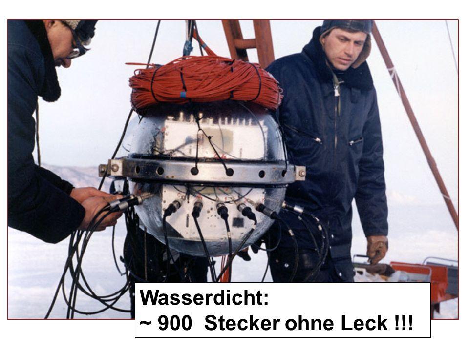 BED Wasserdicht: ~ 900 Stecker ohne Leck !!!