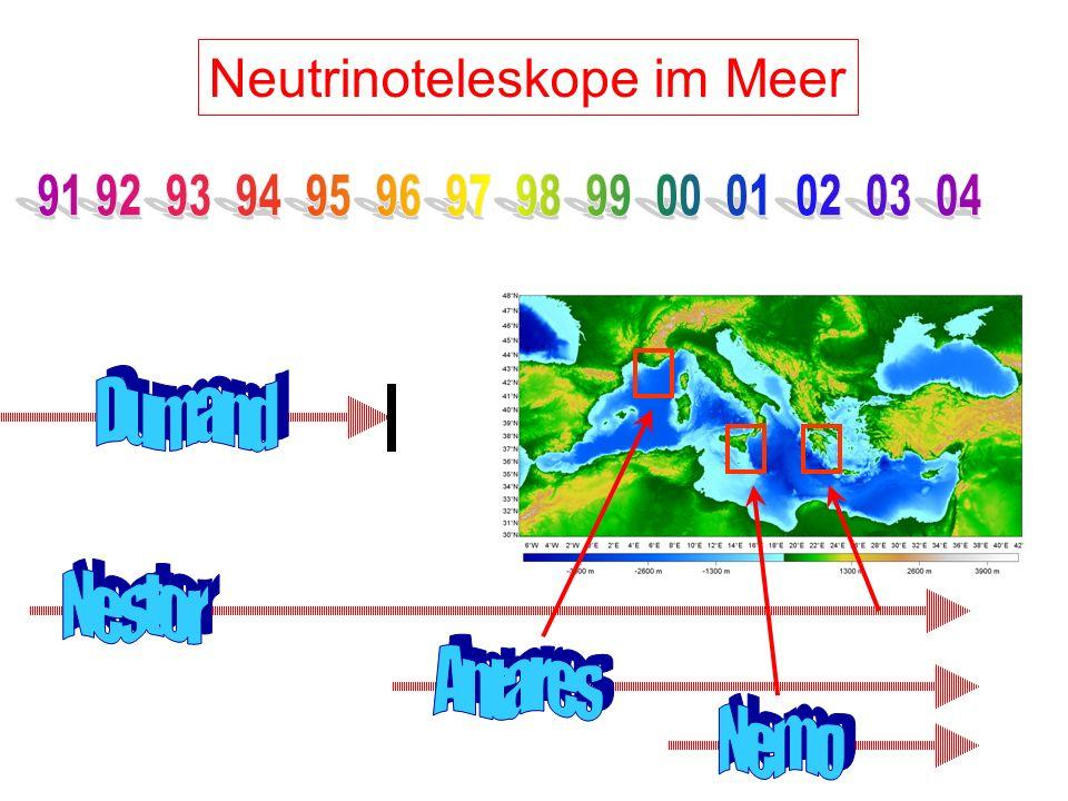 Neutrinoteleskope im Meer