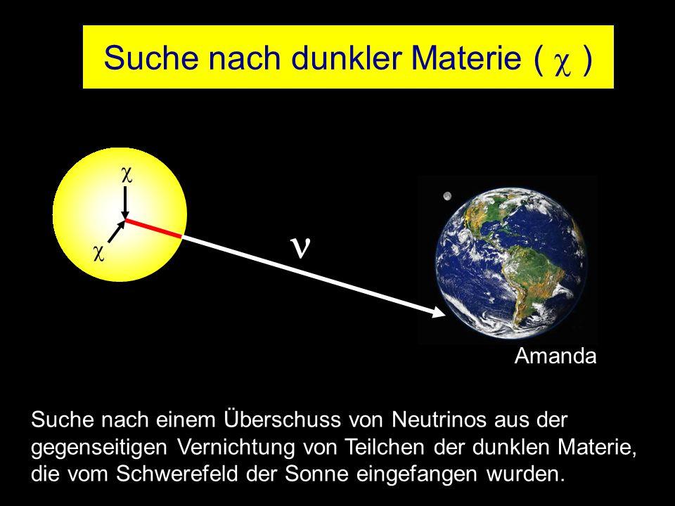 Suche nach dunkler Materie (  )