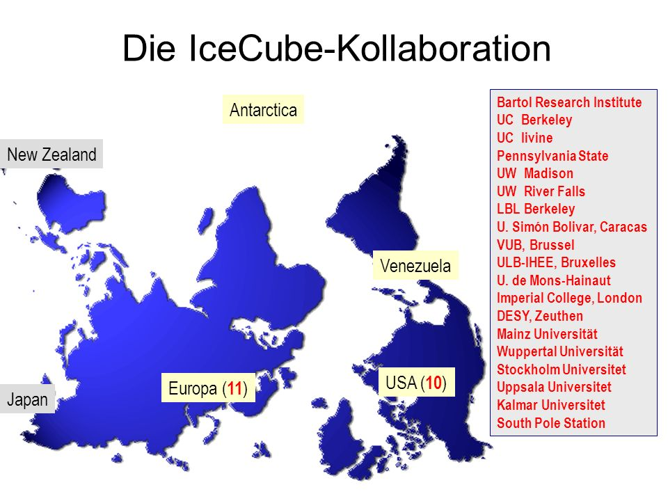 Die IceCube-Kollaboration
