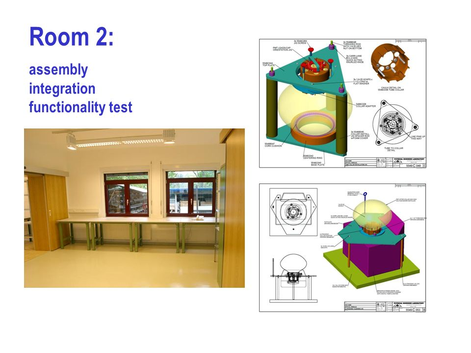 Room 2: assembly integration functionality test