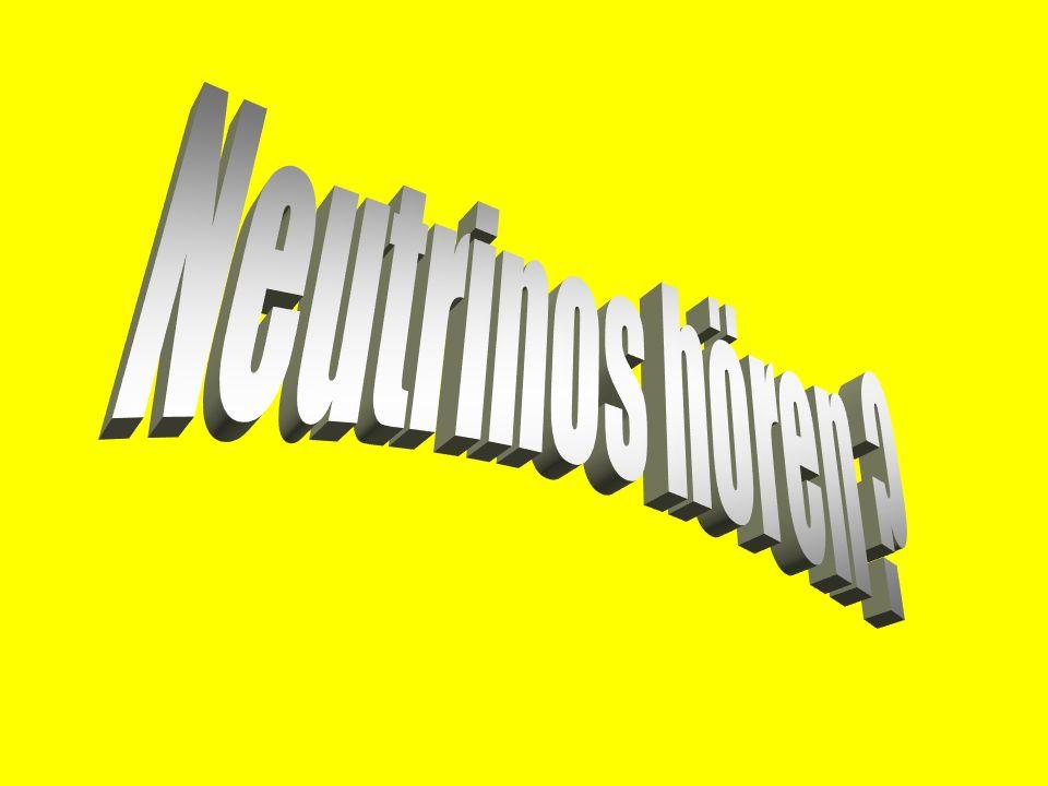 Neutrinos hören