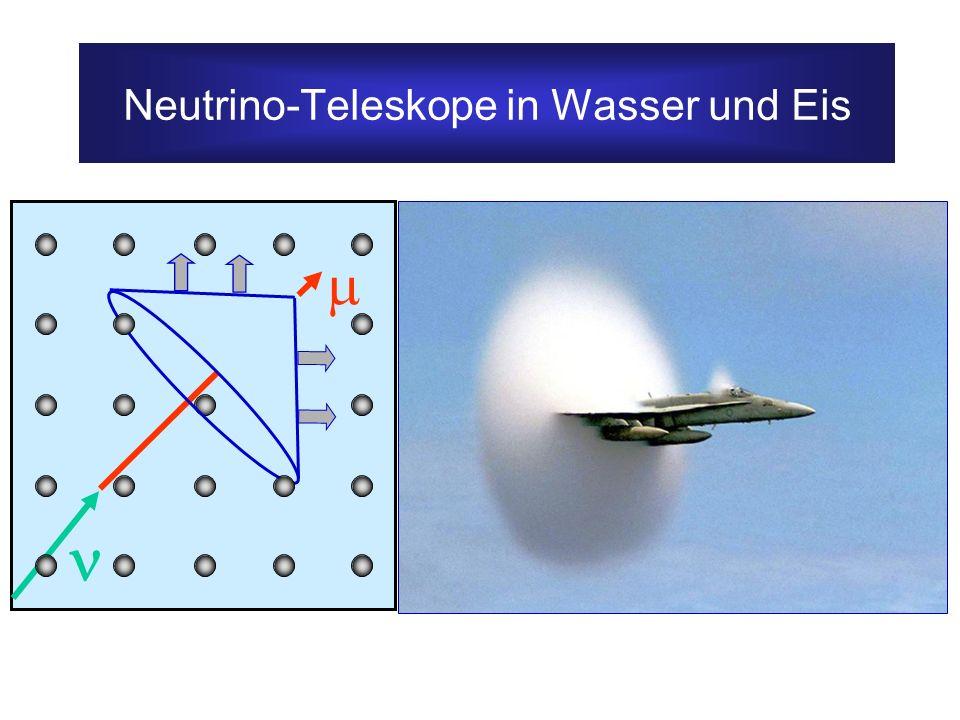 Neutrino-Teleskope in Wasser und Eis