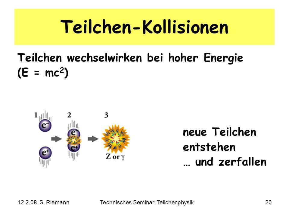 Teilchen-Kollisionen
