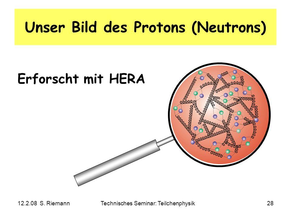Unser Bild des Protons (Neutrons)